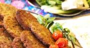 طرز تهیه کتلت لوبیا قرمز و سیب زمینی ساده و مخصوص بدون گوشت
