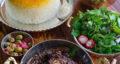 طرز تهیه خورش انار و بادمجان لذیذ و آسان با مرغ مرحله به مرحله